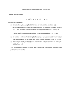 Nonlinear Control assignment RJP-1