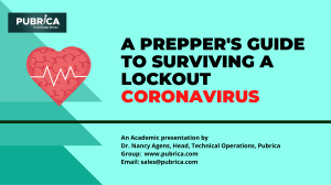 A prepper's guide to surviving a lockout coronavirus – Pubrica