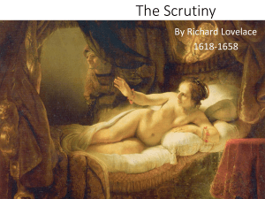 5 the scrutiny