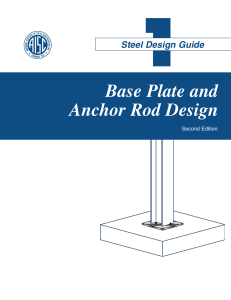 ci33 321 aisc design guide 1 - column base plates - 2nd edition