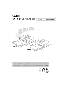 SELPHY CP710 CP510 User Guide EN
