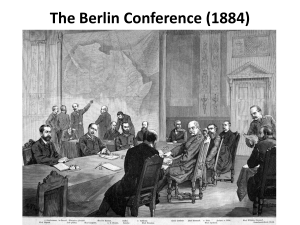 Berlin Conference 1884