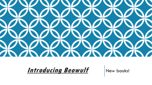 Introducing Beowulf