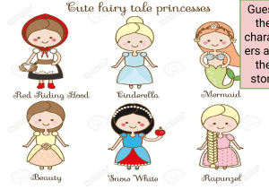 Fairy tales starter activity