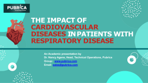 The impact of cardiovascular diseases in patients with respiratory disease - Pubrica
