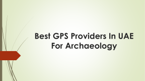 Best GPS Providers in UAE for Archaeology