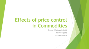 effects of price control