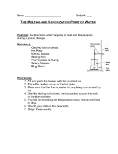 10-Phases of Water Lab
