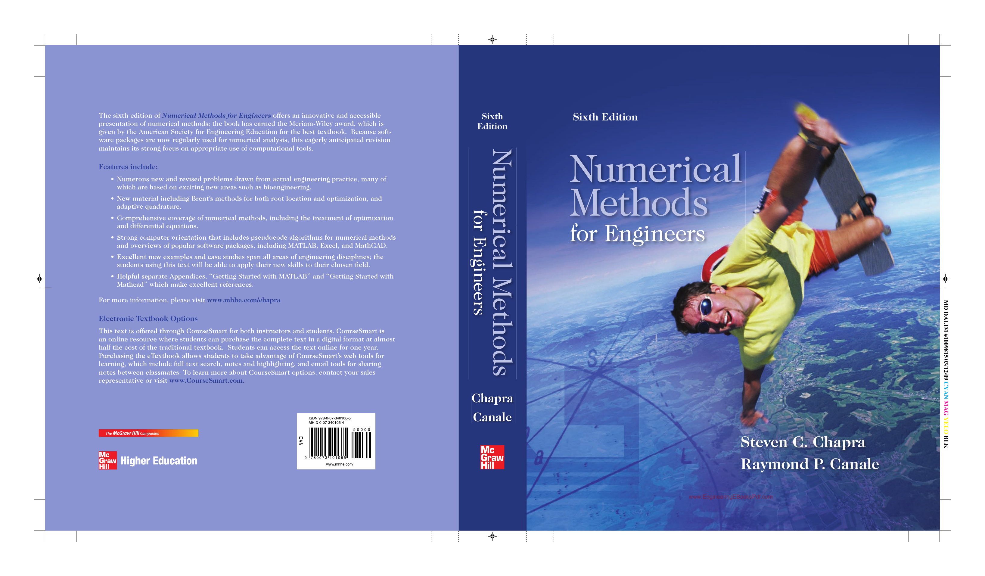Numerical Methods For Engineers 6th Edition By Steven C Chapra And Raymond P Canale