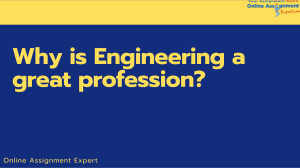 Why is Engineering a great profession-converted