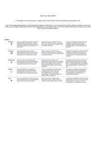 One Pager Template Short Stories