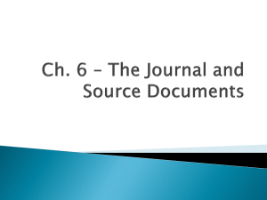 Section 6.1 - The Journal ( BAF3M)