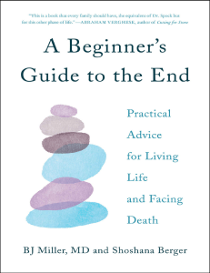 A Beginners Guide To The End Of Life E Book