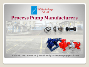 Process Pump Manufacturers