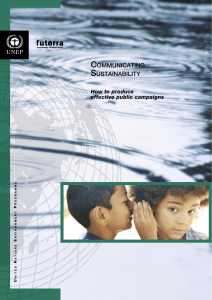 United Nations Environment Programme Communication