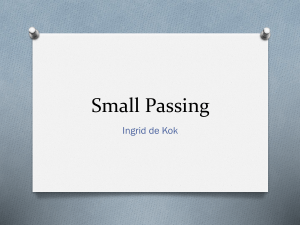 Small Passing- Poetry Grade 11 Home Language