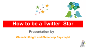 How to be effective in Twitter