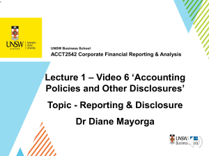 Lecture 1 Lecture Video 6 Slides UNSW ACCT2542