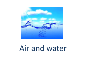 Air- composition and separation