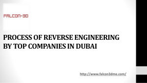 PROCESS OF REVERSE ENGINEERING BY TOP COMPANIES IN DUBAI