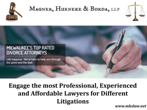 Experienced and Affordable Lawyers in Milwaukee