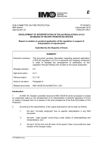 FP 56-INF.8 - Report on studies on practical application of the regulation in support of interpretation... (Republic of Korea)