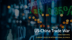 Vid1 - US & China Trade War