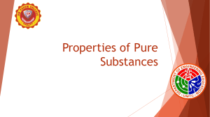 Properties-of-Pure-Substances