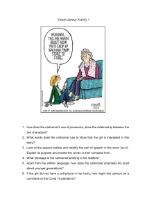 Visual Literacy Questions- Comic Strip