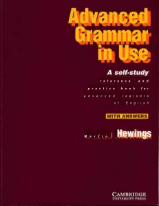 [Nghetienganhpro].Cambridge - English Advanced Grammar In Use