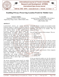 Enabling Privacy Preserving Location Proofs for Mobile Users