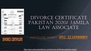 Easiest Way To Get Divorce Certificate Pakistan By Professional Team