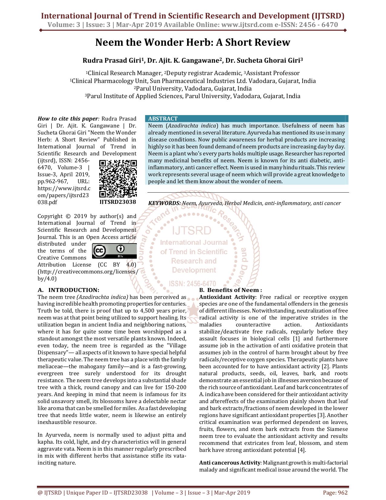 anthelmintic activity of neem negii ureaplasma este