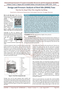 Design and Pressure Analysis of Steel Silo 8000 Tons
