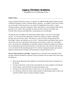 Technology Usage Policy