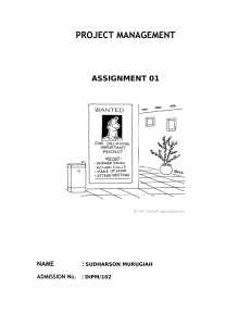 27107055-Project-Management-Assignment-01
