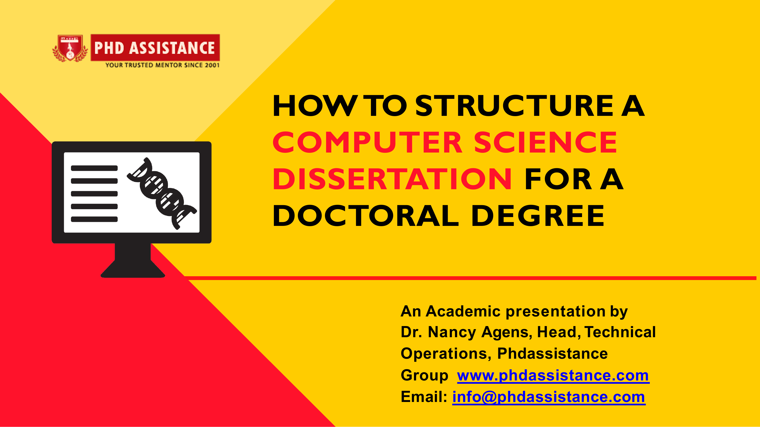 Doctoral thesis computer science