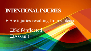 intentionalinjuries