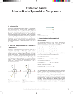 Introduction to Symmetrical Components