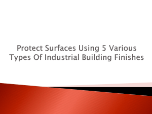 Protect Surfaces Using 5 Various Types Of Industrial Building Finishes