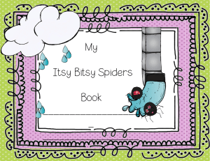 kindergarten itsy bitsy spiders book free
