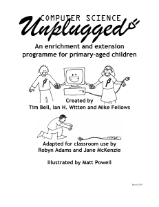 unplugged computing