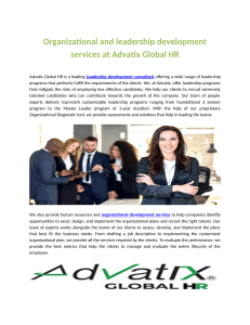 Organizational and leadership development services at Advatix Global HR.pdf