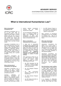 2004 what is humanitarian law icrc