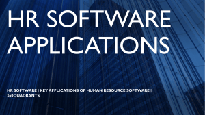 HR Software | Key Applications of Human Resource Software | 360Quadrants