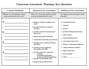Assessment-Framework