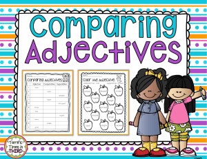 ComparingAdjectivesFreebie