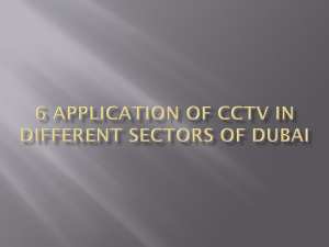 6 Application of CCTV in Different Sectors of Dubai