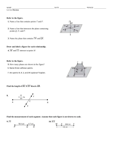 1.1-1.3 Review (from Practice Worksheets)