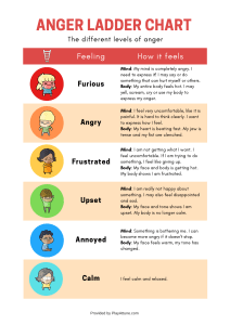 anger ladder chart